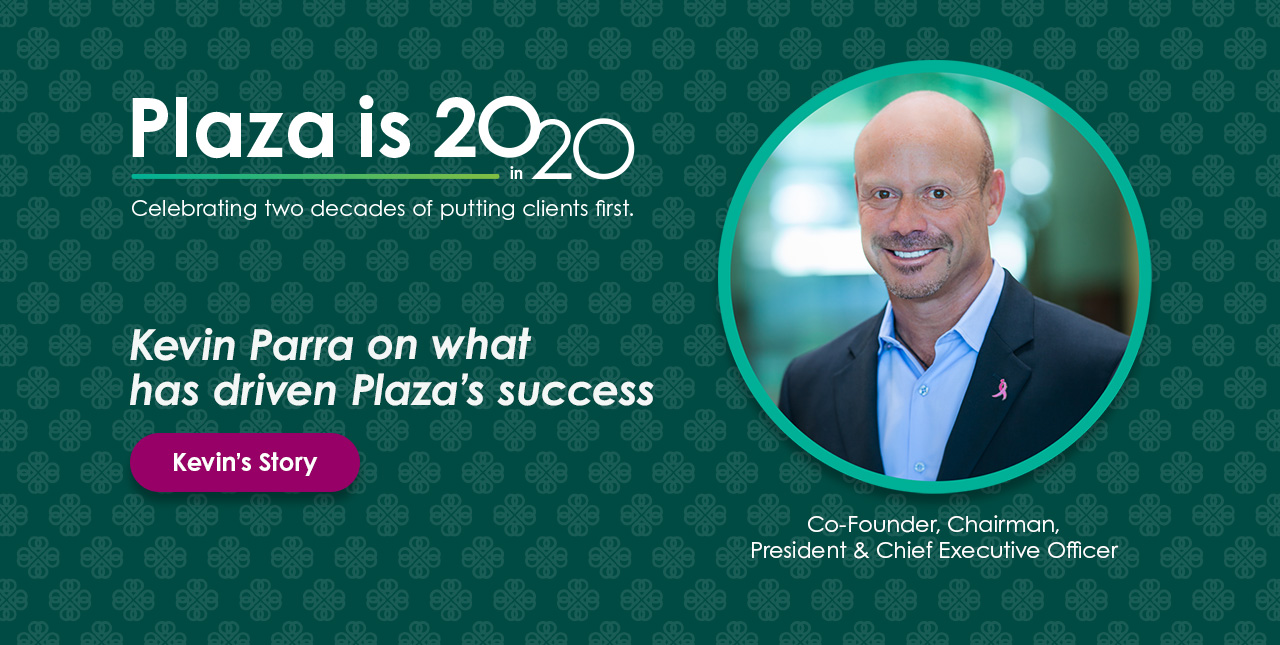 Plaza is 20 in 20