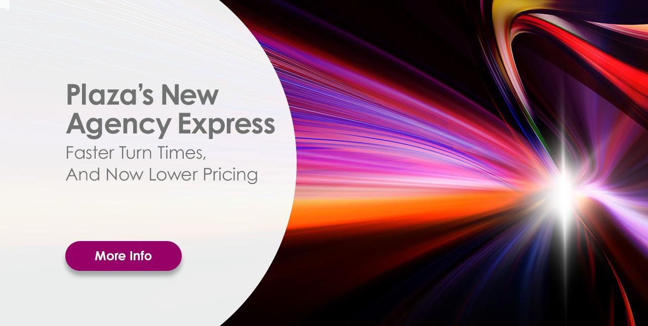 Plaza's New Agency Express