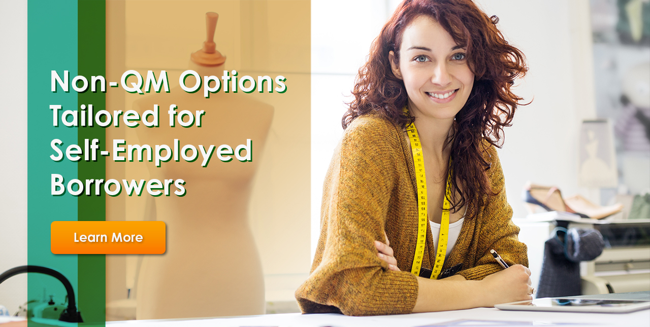 Non-QM Options Tailored for Self-Employed Borrowers