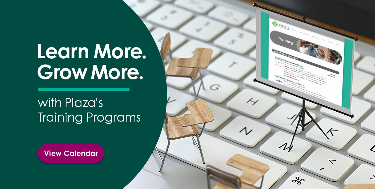 Learn More Grow More with Plaza's Training Programs